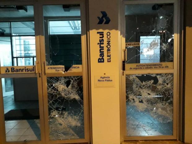 Segundo semestre concentrou metade dos ataques a unidades bancárias da Serra em 2018 Brigada Militar/Divulgação