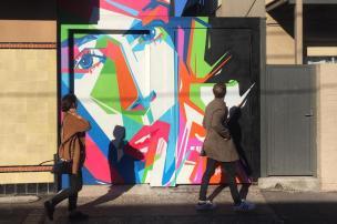 3por4: artista caxiense Gustavo Gomes é escolhido para pintar um mural em Sydney Gustavo Gomes/Divulgação