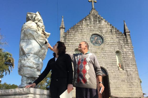 Estátua em homenagem a Padre Pedro Rizzon será inaugurada neste domingo Mateus Frazão/Agencia RBS