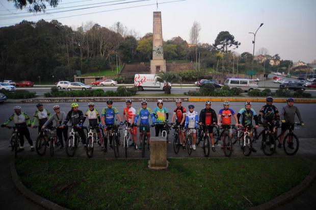 No Dia do Ciclista, grupo organiza pedalada por parques de Caxias do Sul Felipe Nyland/Agencia RBS