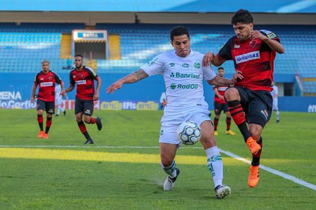 Juventude peca nas finalizações e fica no empate com o Oeste Guilherme Rodrigues/futura press