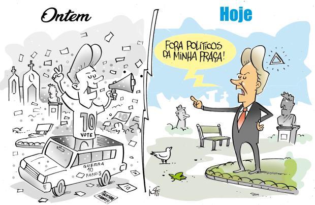 Iotti: a política de Daniel Guerra Iotti / Agência RBS/Agência RBS