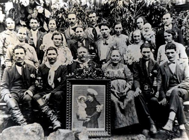 Memória: encontros das famílias Manfroi e Marafon acervo de família / divulgação/divulgação