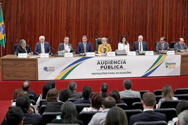 TSE apresenta tempos de rádio e TV de presidenciáveis Roberto Jayme/Divulgação