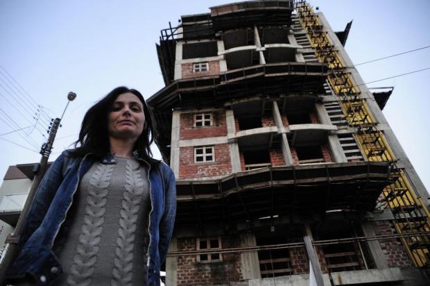 """""""É uma frustração inexplicável"""", diz moradora enganada por construtora em Caxias Marcelo Casagrande/Agencia RBS"""