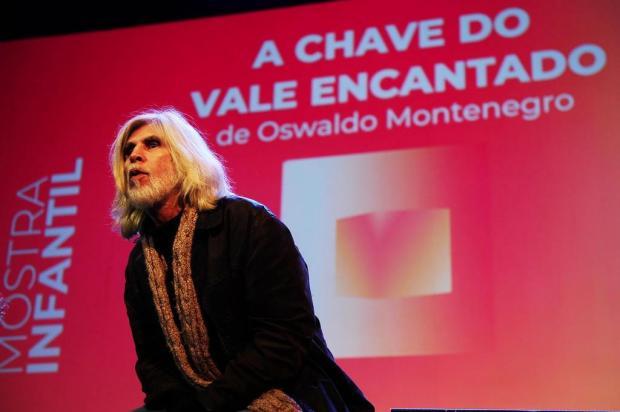 """3por4: Oswaldo Montenegro apresenta o filme """"A Chave do Vale Encantado"""" em Gramado Diogo Sallaberry/Agencia RBS"""