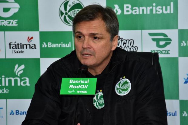 """""""O pensamento é somar pontos o mais rápido possível"""", diz novo técnico do Ju Arthur Dallegrave / Juventude / Divulgação/Juventude / Divulgação"""
