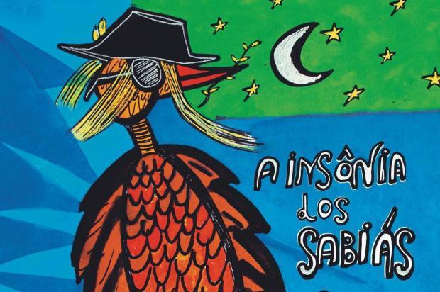 """3por4: livro """"A Insônia dos Sabiás"""", de Alessandra Rech, será lançado neste sábado Arte de Vivi Paqual/Reprodução"""