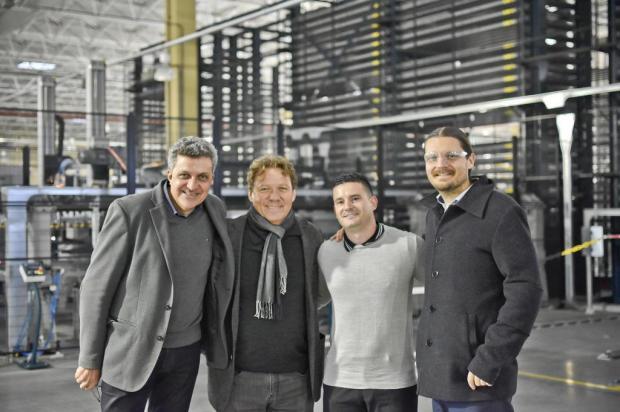 Chef francês Claude Troisgros visita fábrica na Serra Gaúcha ROGER MAX ROCHA/divulgação