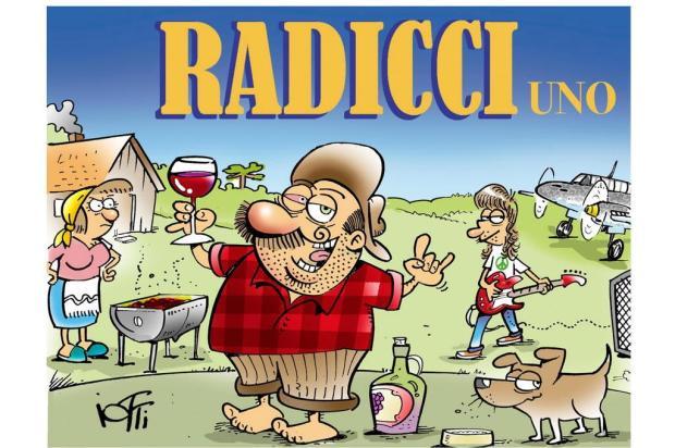 """3por4: """"Radicci"""", criação do cartunista caxiense Iotti, vai ganhar livro em cores Carlos Henrique Iotti/Divulgação"""