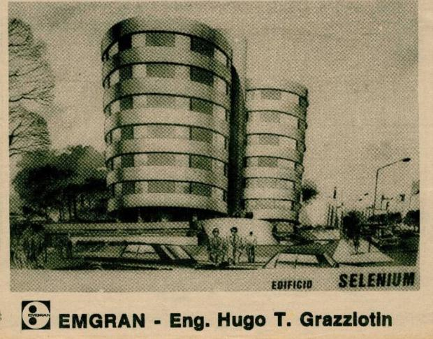 Memória: Edifício Selenium, o irmão gêmeo do Antares Acervo Centro de Memória da Câmara de Vereadores de Caxias do Sul / reprodução/reprodução