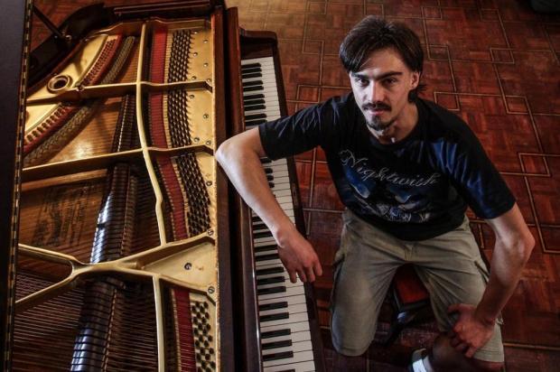 """Bruno Hrabovsky apresenta """"Metal ao Piano"""" nesta sexta, em Caxias Daniel Castellano/Divulgação"""