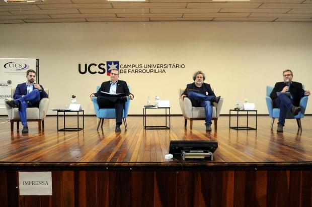 O que os candidatos a governador disseram sobre saúde no painel em Farroupilha Porthus Junior/Agencia RBS