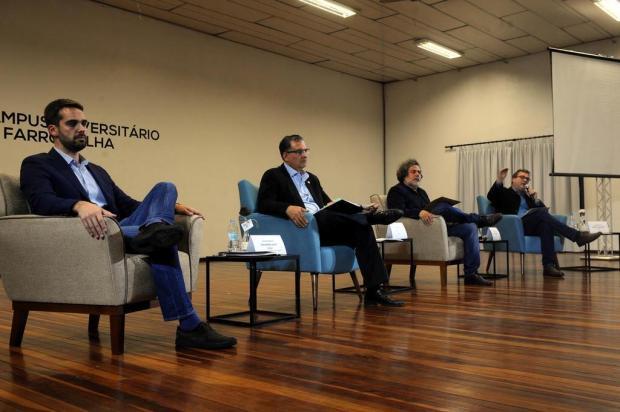 O que os candidatos a governador disseram sobre educação no painel em Farroupilha Porthus Junior/Agencia RBS