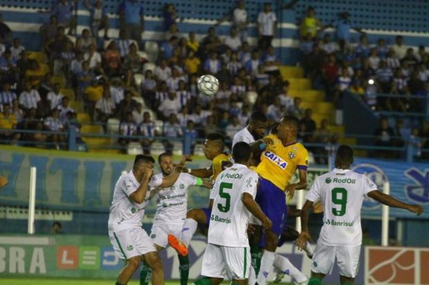 Atuação ofensiva agrada, mas jogadores lamentam erro no fim e novo empate do Juventude Fernando Torres/Paysandu/Divulgação