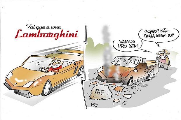 Iotti: Lamborghini envolvida em acidente não tinha seguro Iotti/