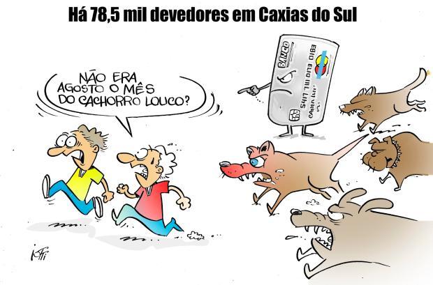 Iotti: número de devedores em Caxias Iotti / Agência RBS/Agência RBS
