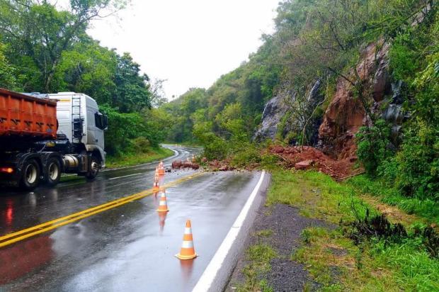 Chuva causa transtornos em três rodovias da Serra CRBM/divulgação