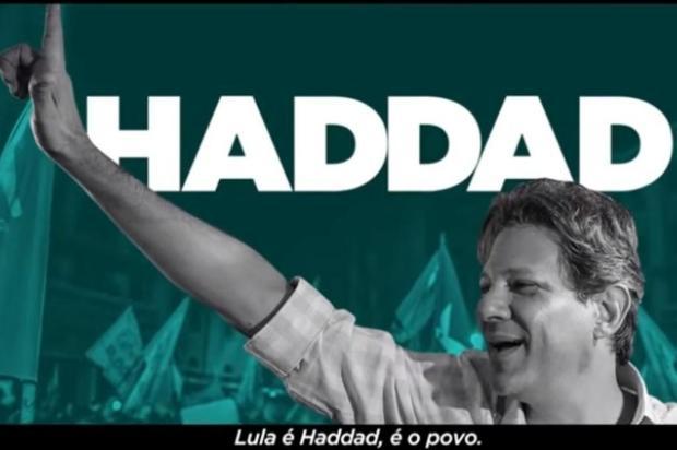 """Mirante: """"Lula é Haddad"""", diz jingle do PT após decisões do TSE sobre propaganda eleitoral Facebook/Reprodução"""