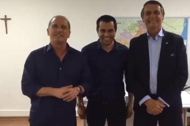 Mirante: se eleito, Bolsonaro diz que Onyx Lorenzoni vai para a Casa Civil Facebook/Reprodução