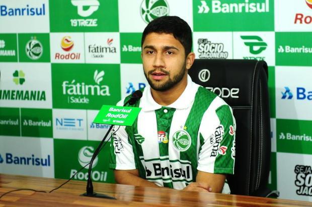 Juventude apresenta Hugo Sanches como reforço para o setor ofensivo Diogo Sallaberry/Agencia RBS