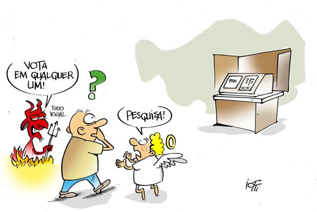 Iotti: a dúvida na eleição Iotti / Agência RBS/Agência RBS
