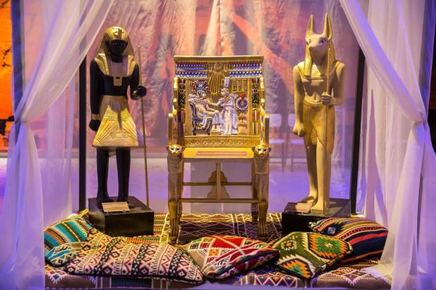 3por4: Museu Egípcio Itinerante é novidade no 2º andar do Bourbon San Pellegrino Fábio Mattos/Divulgação