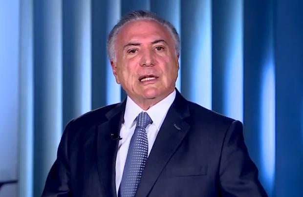 Tá na Web: Em vídeos no Twitter, Temer ataca Alckmin Twitter / Reprodução /Reprodução
