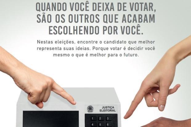 Te liga, eleitor: votos nulos e brancos não anulam as eleições Reprodução/Internet