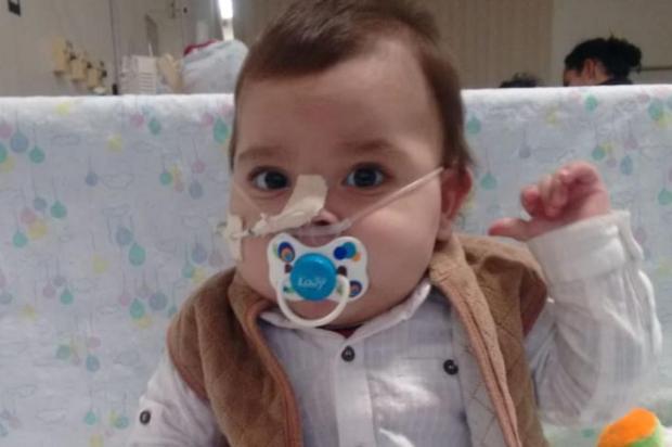 Campanha arrecada recursos para tratamento de bebê, em Caxias Acervo Pessoal/Divulgação