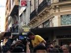 Jair Bolsonaro é ferido com faca durante campanha em Juiz de Fora Reprodução/