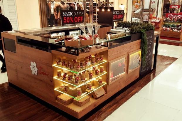 Quiosque de produtos funcionais e saudáveis abre em Caxias Saymon Dall Alba/divulgação