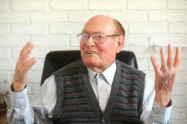 Mais antigo empresário na ativa de Caxias completa 97 anos Diogo Sallaberry/Agencia RBS