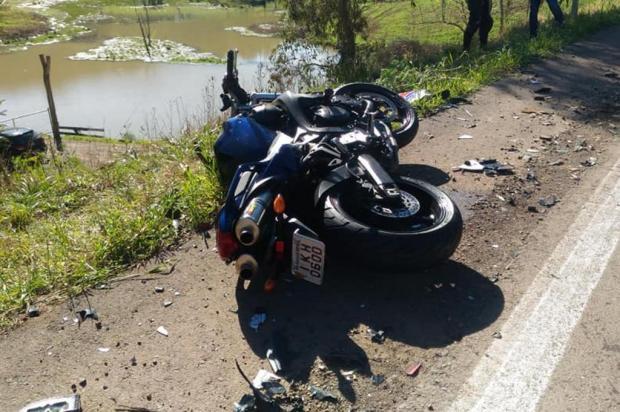 Confirmada a identidade de motociclista morto em Ipê Bombeiros Voluntários de Antônio Prado/Divulgação