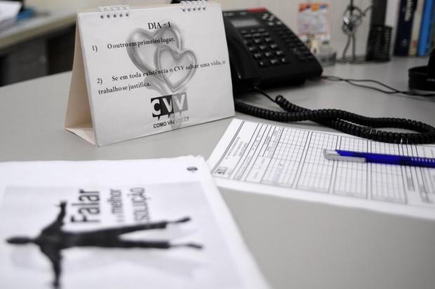 No mês da prevenção ao suicídio, CVV destaca a importância de ter a quem recorrer Marcelo Casagrande/Agencia RBS