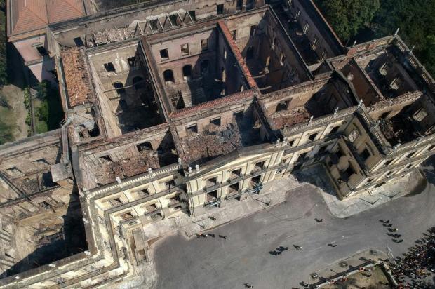 Caxienses visitaram o Museu Nacional dias e horas antes do incêndio Mauro Pimentel/AFP