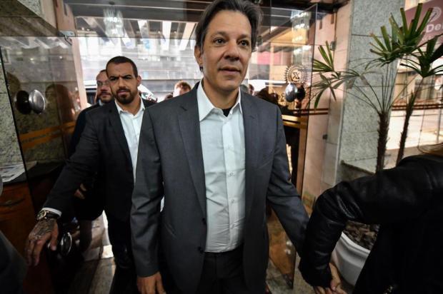 PT indica Haddad no lugar de Lula na disputa presidencial NELSON ALMEIDA/AFP