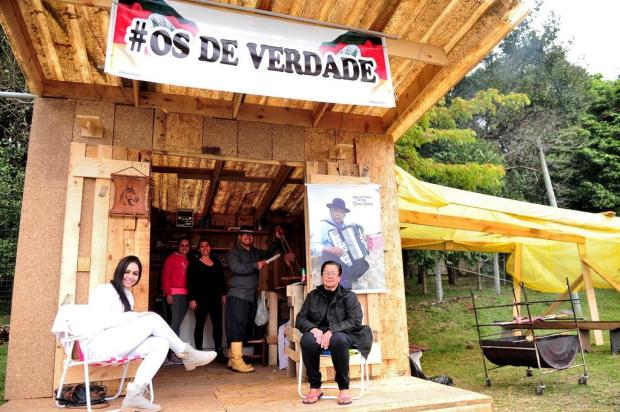 Acampamento farroupilha começa a se formar em Caxias do Sul Diogo Sallaberry/Agencia RBS