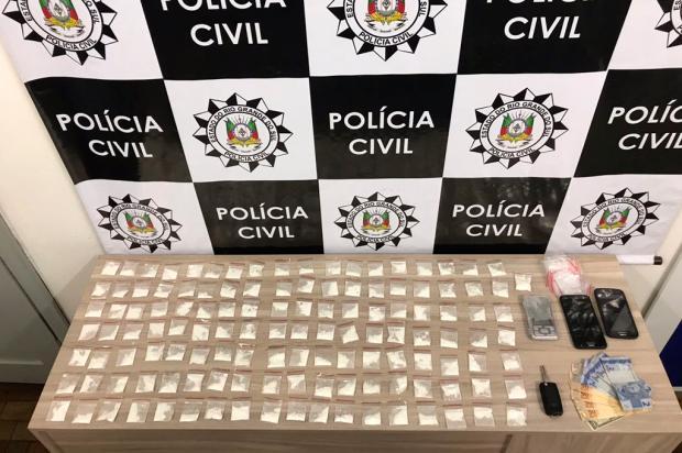 Polícia Civil flagra venda e apreende 127 porções de cocaína em Caxias do Sul Polícia Civil / Divulgação/Divulgação