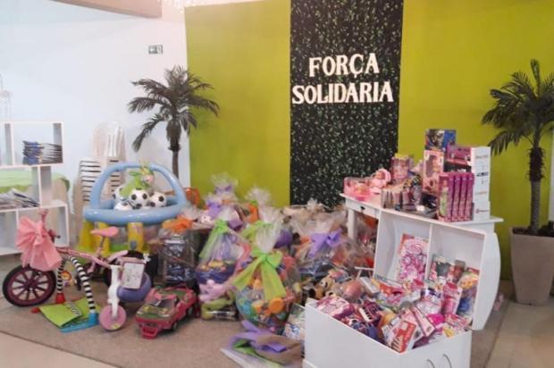 Grupo arrecada fraldas e brinquedos para pacientes do Hospital Geral em Caxias Carla Varta Pergher/Divulgação