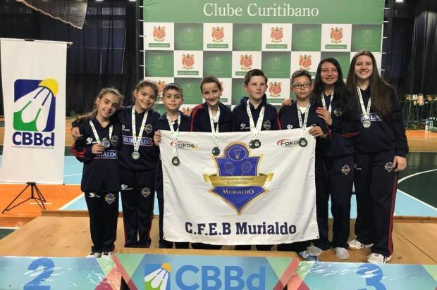 CFEB/Murialdo/Clube Juvenil conquista cinco medalhas em Curitiba CFEB/Murialdo/Divulgação