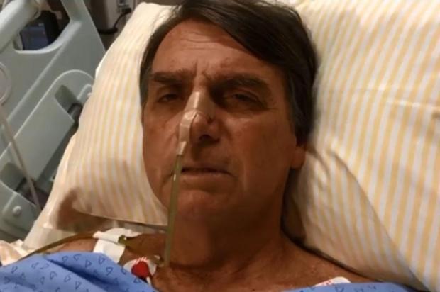 Mirante: Do hospital, Bolsonaro faz campanha e acusa fraude eleitoral Facebook/Reprodução