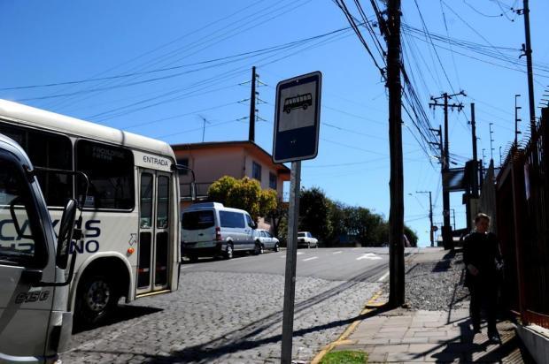 Apesar de repasse da Visate à prefeitura, faltam paradas de ônibus em Caxias do Sul Lucas Amorelli/Agencia RBS