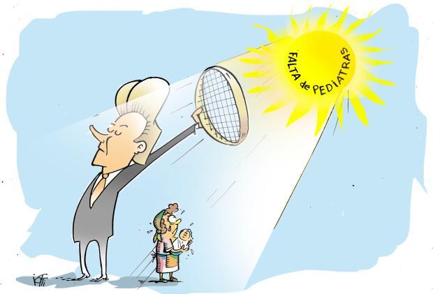 Iotti: tapando o sol com a peneira Iotti / Agência RBS/Agência RBS