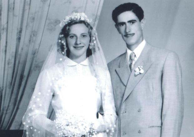 Cazuza Ferreira: um casamento em 1953 Studio Geremia / Acervo de família, divulgação/Acervo de família, divulgação