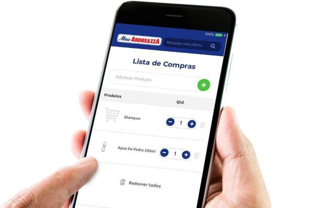 Andreazza apresenta aplicativo e confirma mais três supermercados Quanta Ideias/divulgação