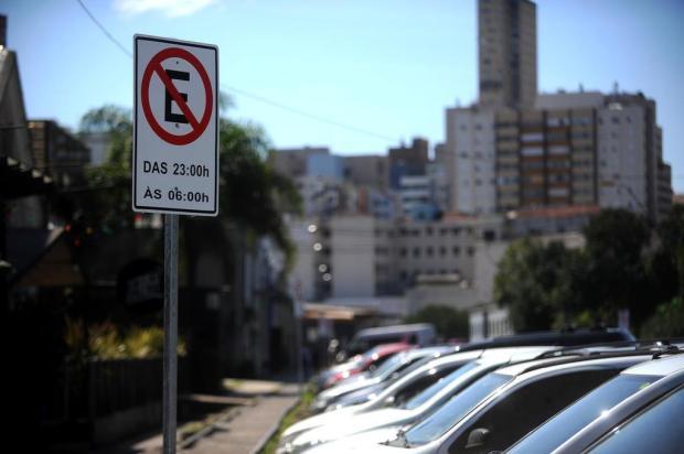 Estacionamento no Largo da Estação Férrea, em Caxias, passa a ser proibido nesta quarta-feira Lucas Amorelli/Agencia RBS