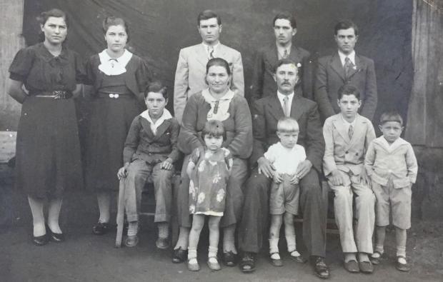 Memória: Encontro da família Casagrande no bairro Santa Catarina acervo de família / divulgação/divulgação