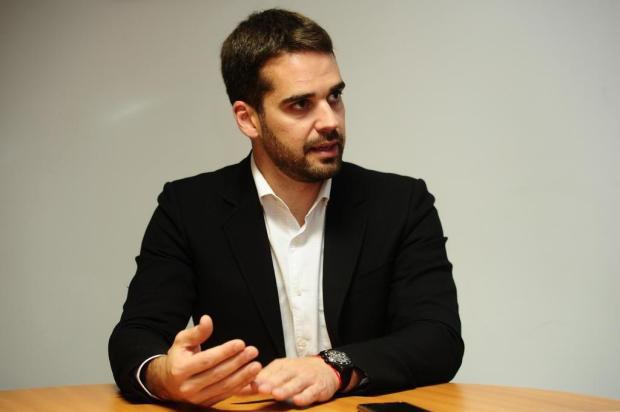 Candidato a governador do PSDB, Eduardo Leite palestra em Caxias na segunda-feira Porthus Junior/Agencia RBS