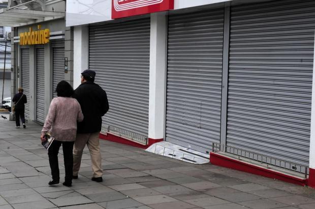 Feriado com lojas fechadas em Caxias do Sul Marcelo Casagrande/Agencia RBS